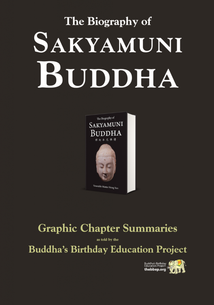 Bio of Sakymuni Buddha Book Graphic Chapter Summaries
