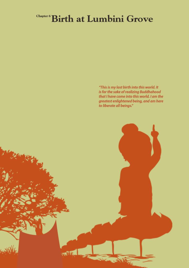 Chapter 06 Birth at Lumbini Garden